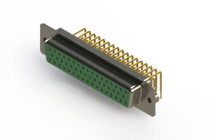 630-M50-640-GT2 - Right Angle D-Sub Connector