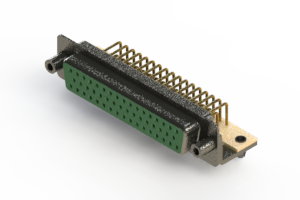 630-M50-640-GT5 - Right Angle D-Sub Connector