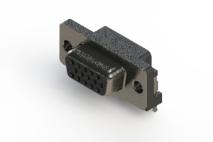 632-015-266-501 - 639 Series right angle D-Sub Connector