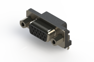 632-015-273-033 - 653 Series right angle D-Sub Connector