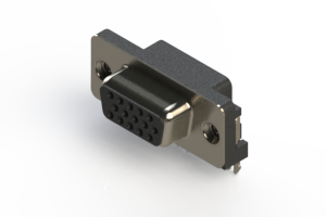632-015-273-035 - 654 Series right angle D-Sub Connector