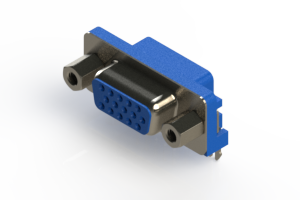 632-015-274-503 - 673 Series right angle D-Sub Connector