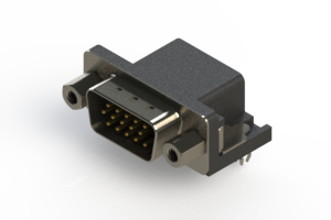 633-015-263-043 - Right Angle D-Sub Connector