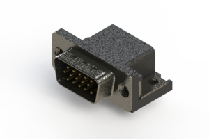 633-015-663-012 - Right Angle D-Sub Connector