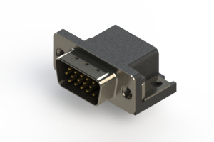 633-015-663-015 - Right Angle D-Sub Connector