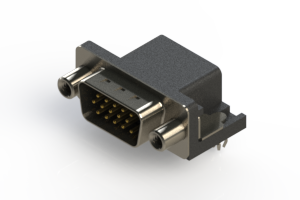633-015-663-040 - Right Angle D-Sub Connector