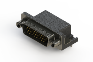 633-026-663-030 - Right Angle D-Sub Connector