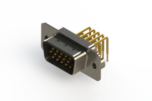 633-M15-663-BN2 - High Density D-Sub Connectors