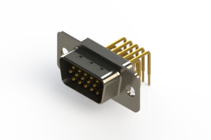 633-M15-663-BT1 - High Density D-Sub Connectors