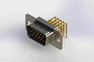 633-M15-663-WT1 - High Density D-Sub Connectors
