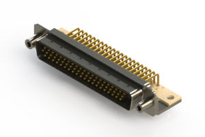 633-M62-663-BT6 - High Density D-Sub Connectors