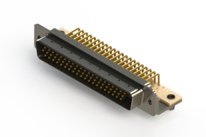 633-M62-663-WN3 - High Density D-Sub Connectors