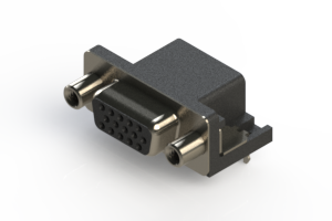 634-015-263-030 - Right Angle D-Sub Connector