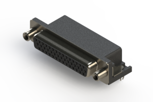 634-044-263-040 - Right Angle D-Sub Connector