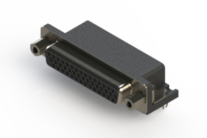 634-044-263-043 - Right Angle D-Sub Connector
