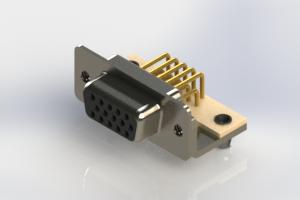 634-M15-663-BN3 - High Density D-Sub Connectors