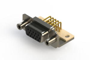634-M15-663-BN6 - High Density D-Sub Connectors