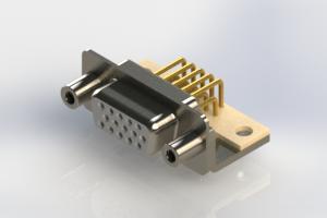 634-M15-663-WT6 - High Density D-Sub Connectors