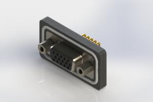 634-W15-662-012 - Waterproof High Density D-Sub Connectors