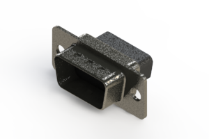 637-015-010-041 - Vertical High Density D-Sub Connector