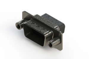 637-015-010-248 - Vertical High Density D-Sub Connector