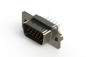 637-015-230-042 - Vertical D-Sub Connector