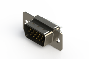 637-015-232-041 - Vertical D-Sub Connector