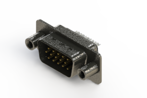 637-015-232-049 - Vertical High Density D-Sub Connector