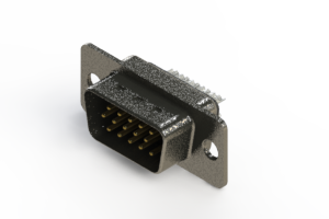 637-015-232-261 - Vertical High Density D-Sub Connector