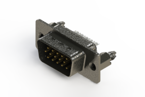 637-015-232-266 - Vertical High Density D-Sub Connector
