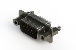 637-015-232-267 - Vertical High Density D-Sub Connector