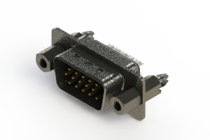 637-015-332-047 - Vertical High Density D-Sub Connector
