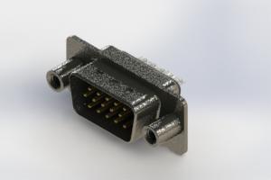 637-015-332-049 - Vertical High Density D-Sub Connector