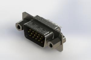 637-015-332-063 - Vertical High Density D-Sub Connector