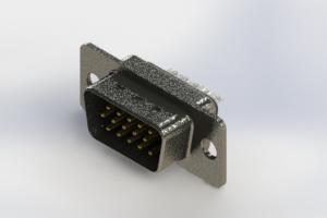637-015-332-241 - Vertical High Density D-Sub Connector