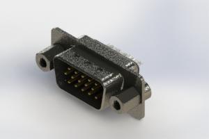 637-015-332-243 - Vertical High Density D-Sub Connector