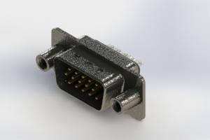637-015-332-249 - Vertical High Density D-Sub Connector