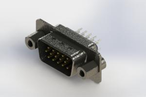 637-015-630-043 - Vertical High Density D-Sub Connector