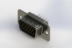 637-015-630-241 - Vertical High Density D-Sub Connector
