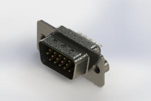 637-015-632-042 - Vertical High Density D-Sub Connector
