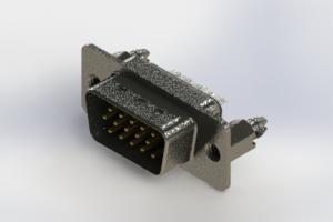 637-015-632-046 - Vertical High Density D-Sub Connector