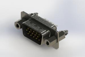 637-015-632-047 - Vertical High Density D-Sub Connector
