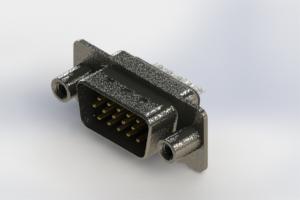 637-015-632-049 - Vertical High Density D-Sub Connector