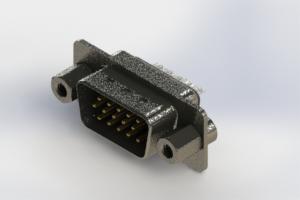 637-015-632-243 - Vertical High Density D-Sub Connector