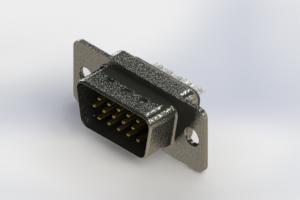 637-015-632-261 - Vertical High Density D-Sub Connector