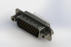 637-026-230-043 - Vertical High Density D-Sub Connector