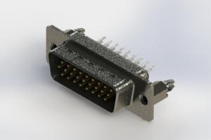 637-026-230-046 - Vertical High Density D-Sub Connector