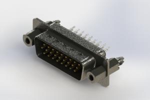 637-026-230-047 - Vertical High Density D-Sub Connector