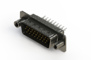 637-026-230-049 - Vertical High Density D-Sub Connector