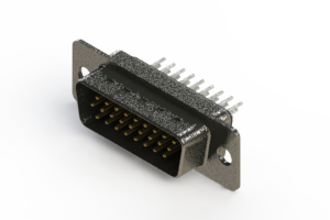 637-026-230-061 - Vertical High Density D-Sub Connector